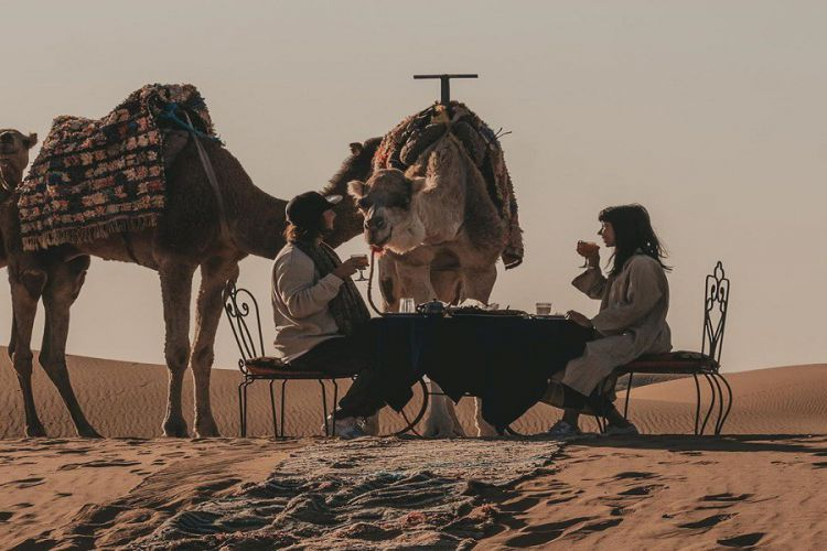Excursión de 2 días al desierto de Merzouga desde Fez