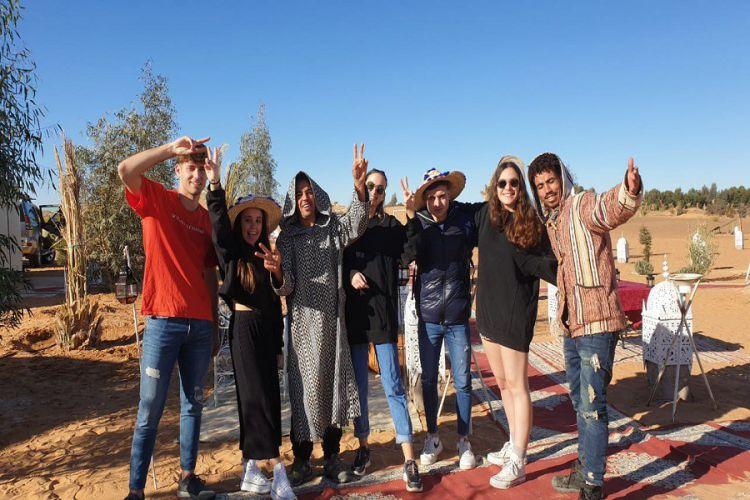 Tour de 4 días a Merzouga desde Fez a Marrakech