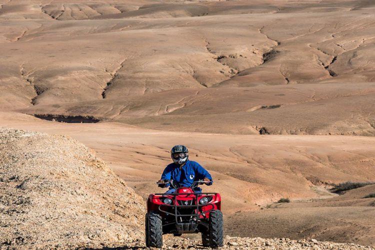 Excursión en quad por el desierto de Agafay Marrakech